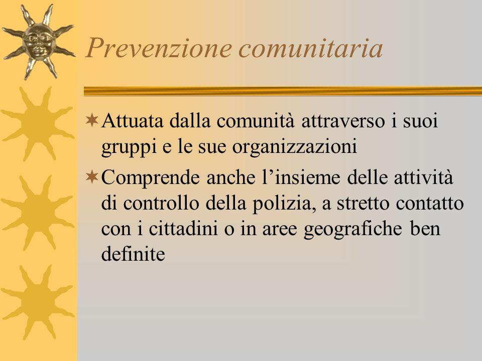 Prevenzione comunitaria