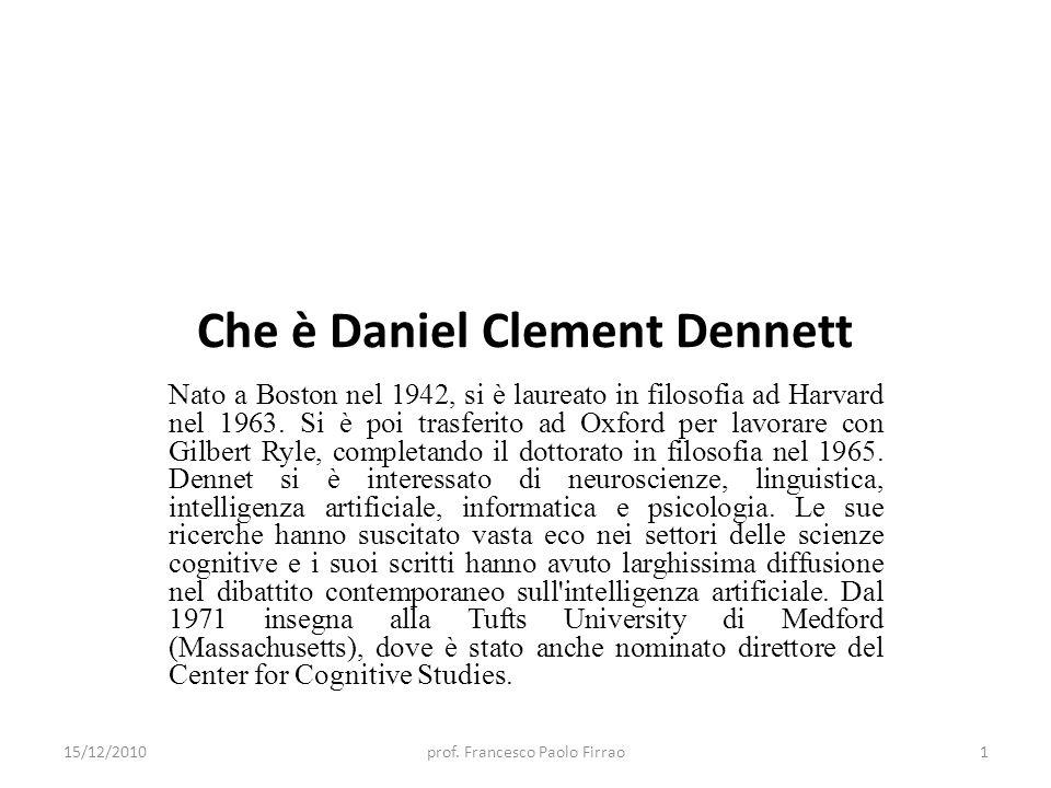 Che è Daniel Clement Dennett