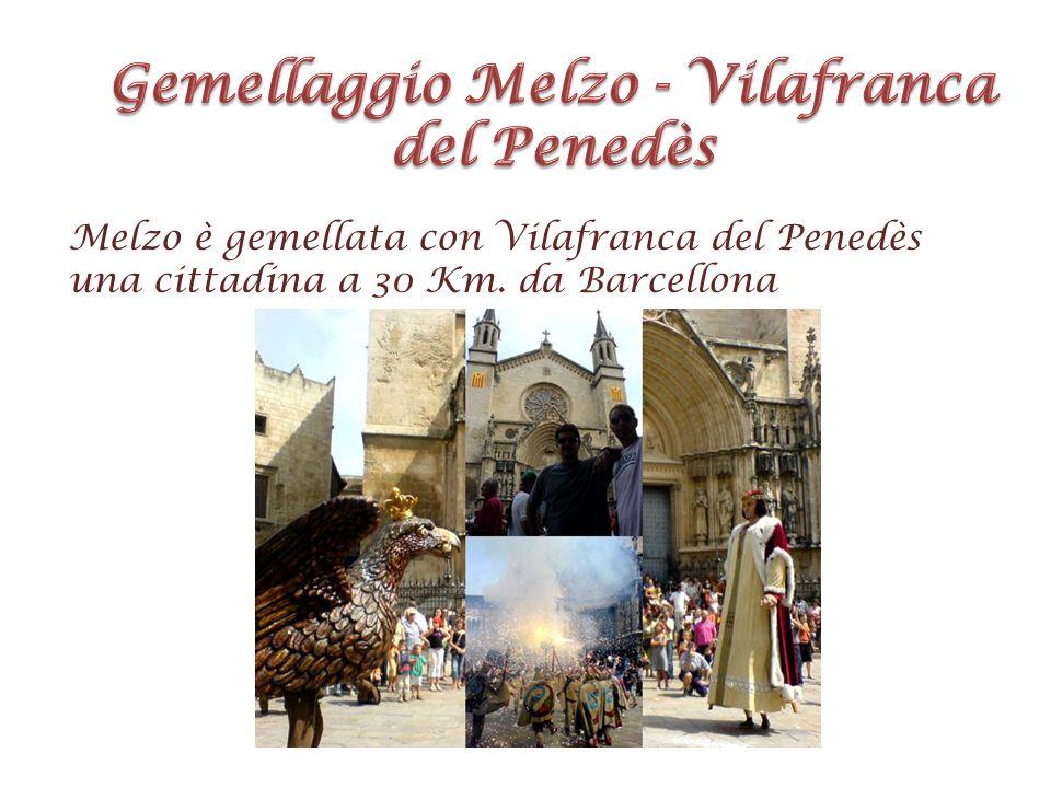 Gemellaggio Melzo - Vilafranca del Penedès