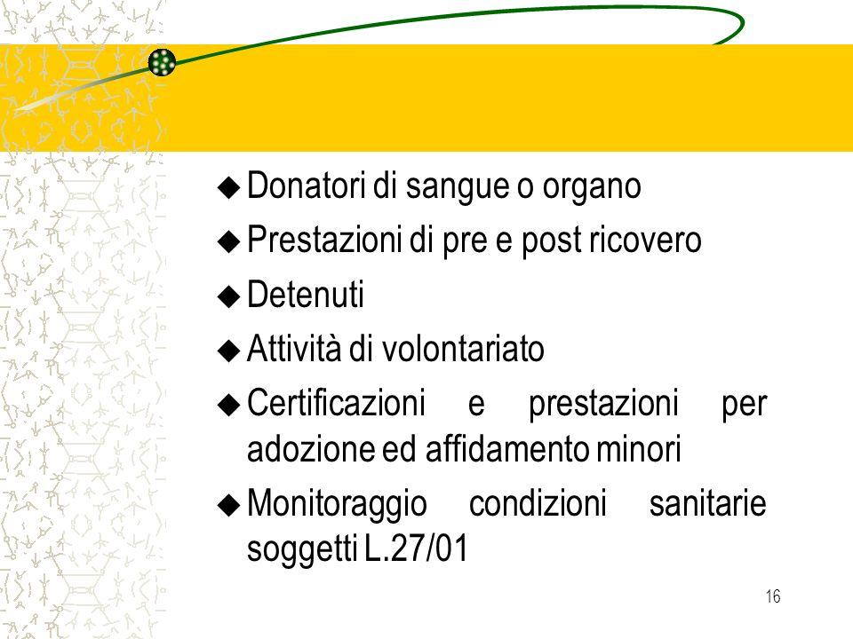 Donatori di sangue o organo
