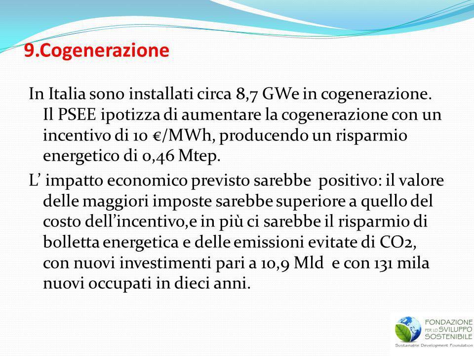 9.Cogenerazione