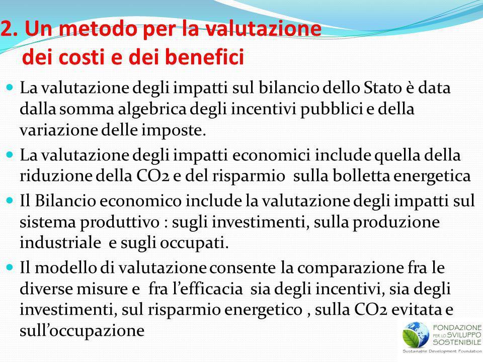 2. Un metodo per la valutazione dei costi e dei benefici