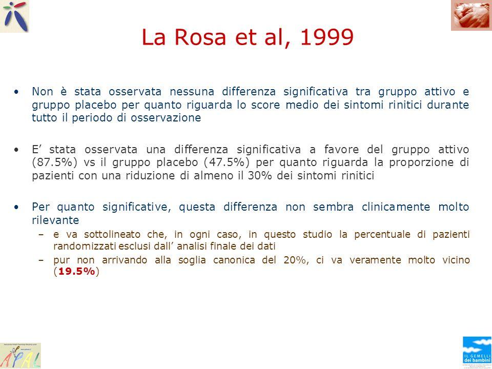 La Rosa et al, 1999