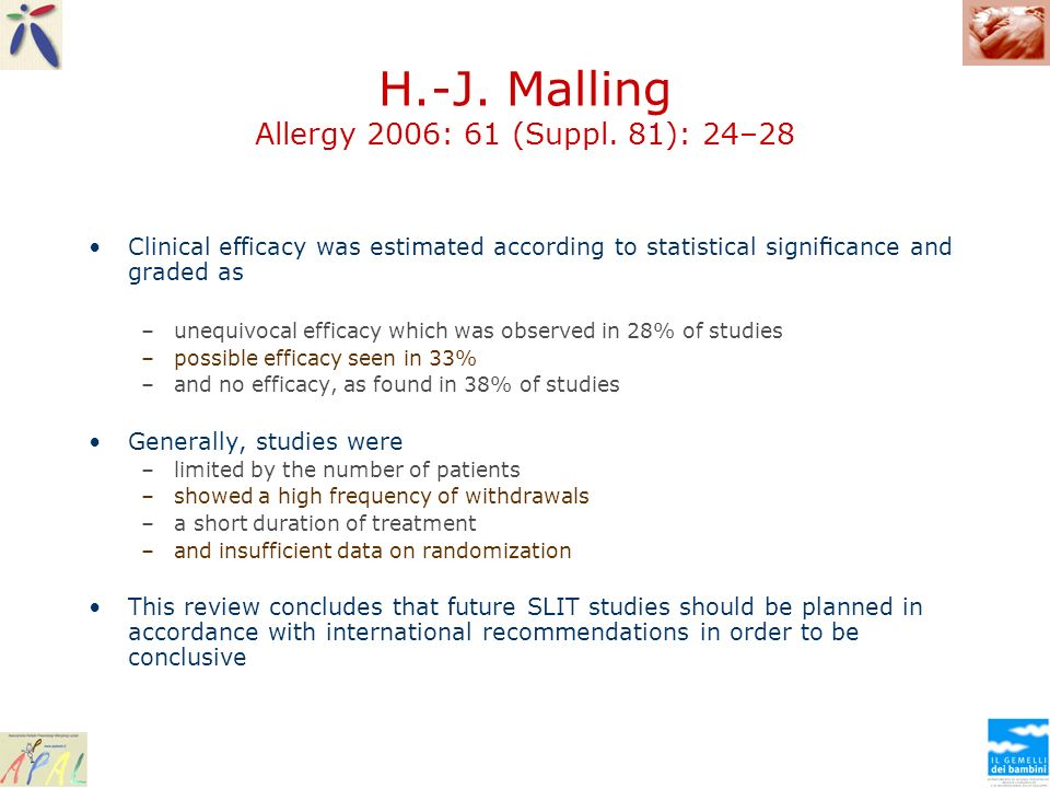 H.-J. Malling Allergy 2006: 61 (Suppl. 81): 24–28