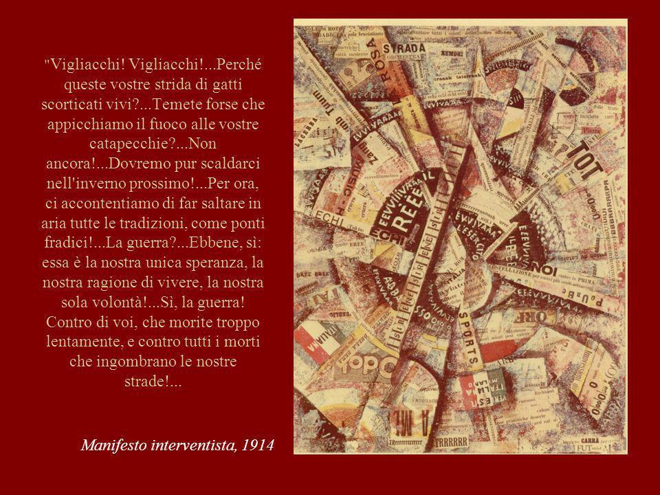 Manifesto interventista, 1914