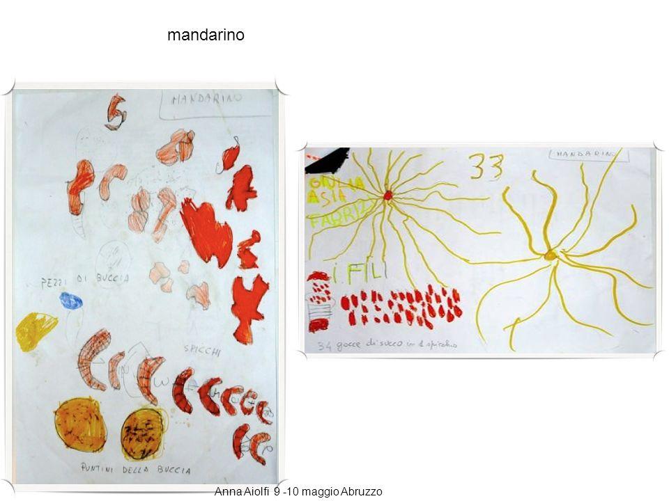mandarino Anna Aiolfi 9 -10 maggio Abruzzo