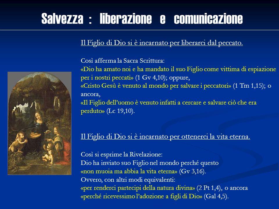 Salvezza : liberazione e comunicazione
