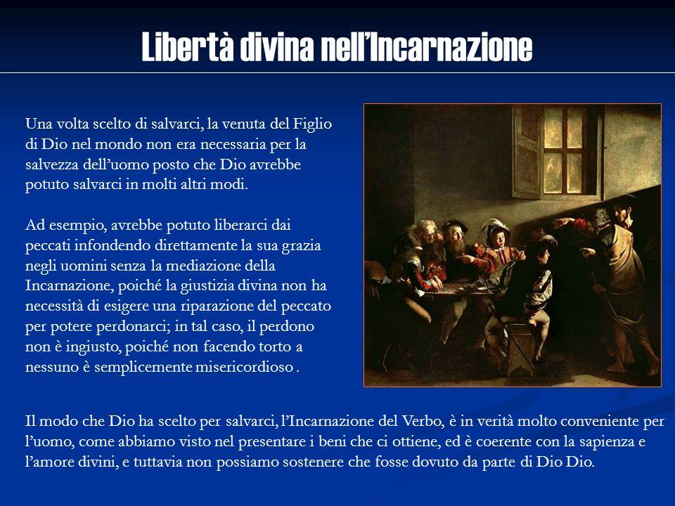 Libertà divina nell'Incarnazione