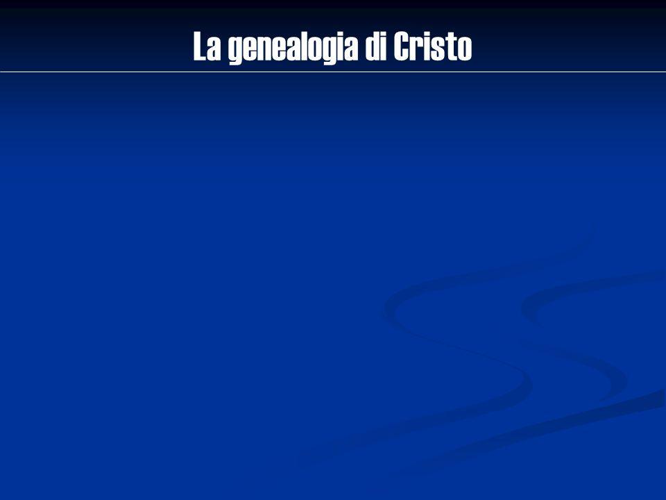 La genealogia di Cristo