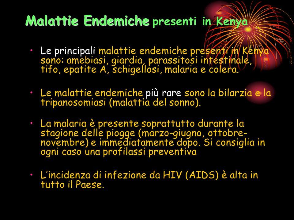 Malattie Endemiche presenti in Kenya