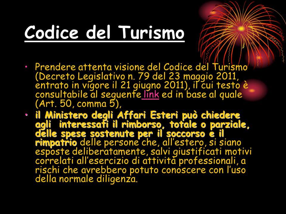 Codice del Turismo