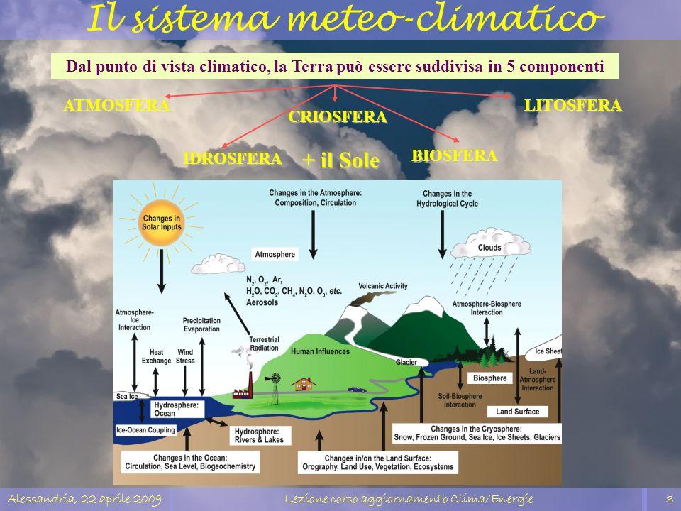 Il sistema meteo-climatico