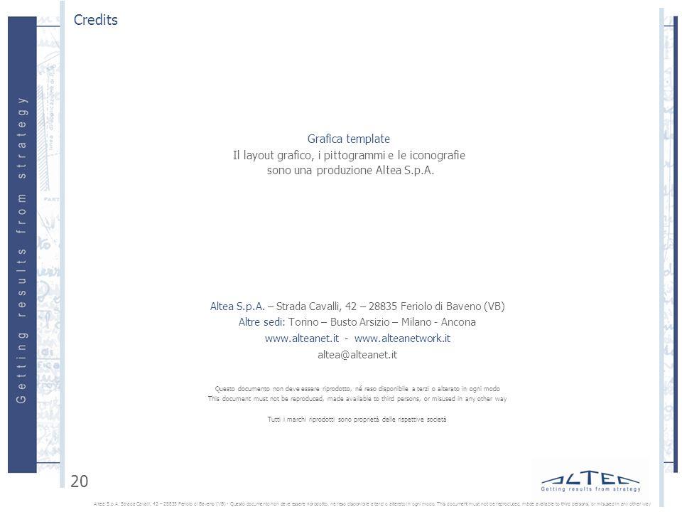 Credits Grafica template