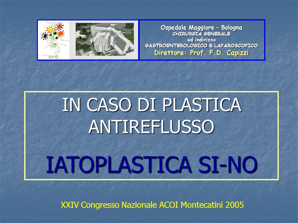 IATOPLASTICA SI-NO IN CASO DI PLASTICA ANTIREFLUSSO