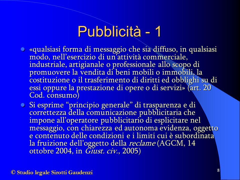 Pubblicità - 1