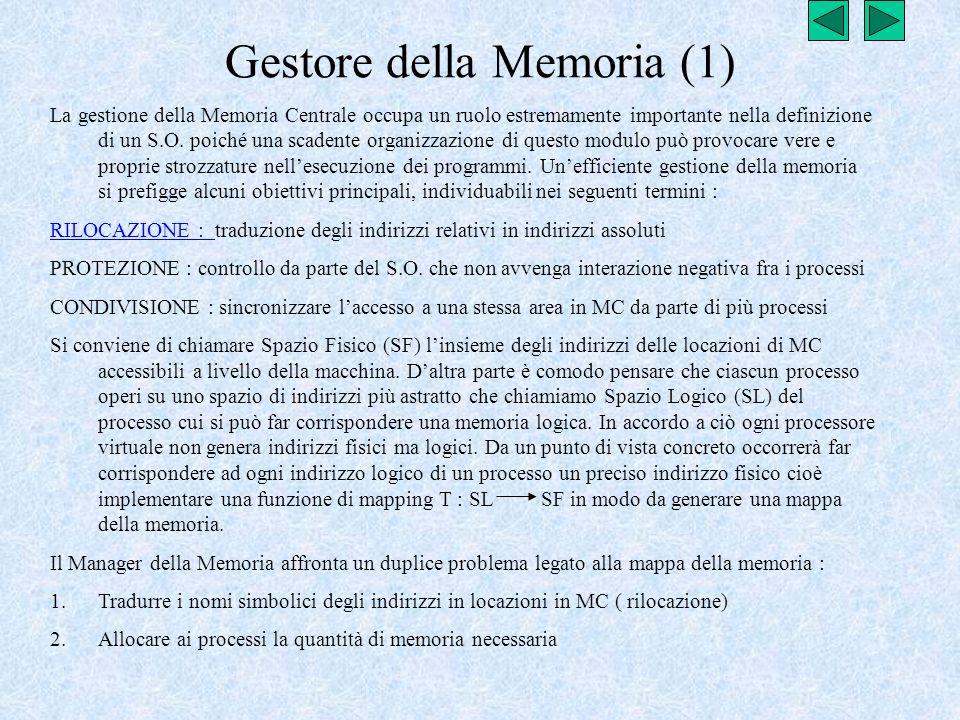 Gestore della Memoria (1)