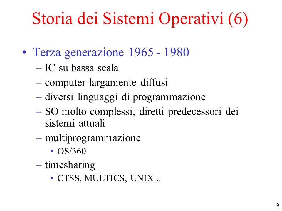 Storia dei Sistemi Operativi (6)