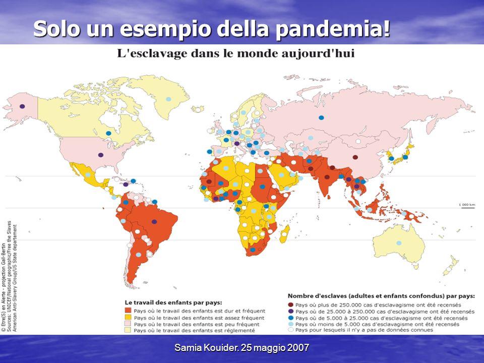 Solo un esempio della pandemia!