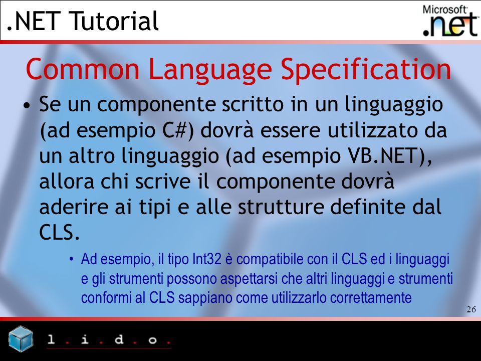 Common Language Specification