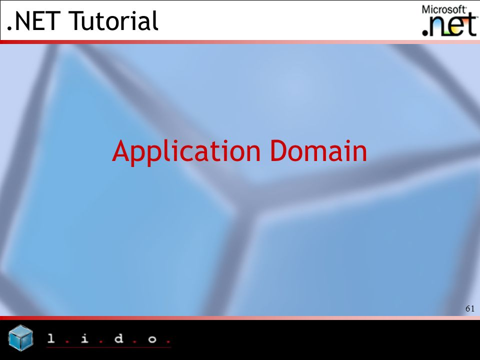 Application Domain