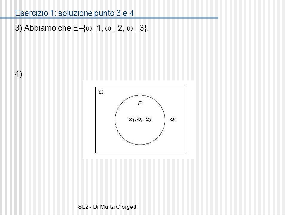 Esercizio 1: soluzione punto 3 e 4