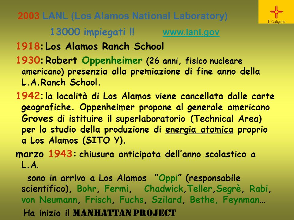 2003 LANL (Los Alamos National Laboratory)