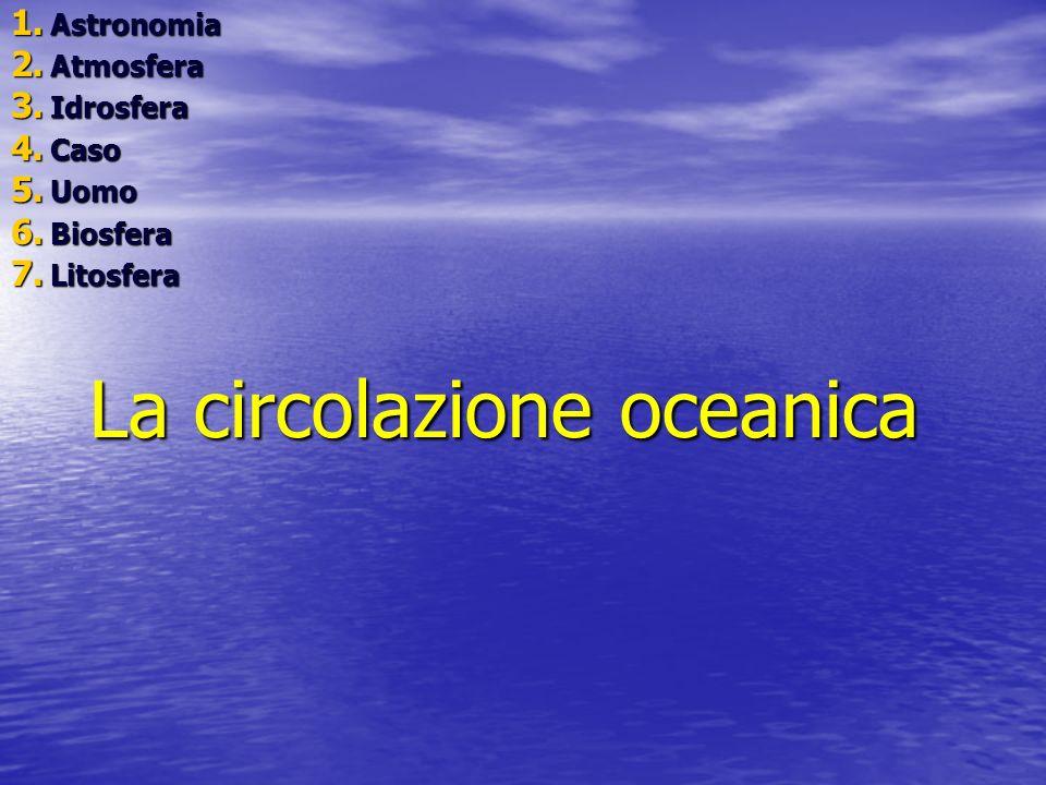 La circolazione oceanica
