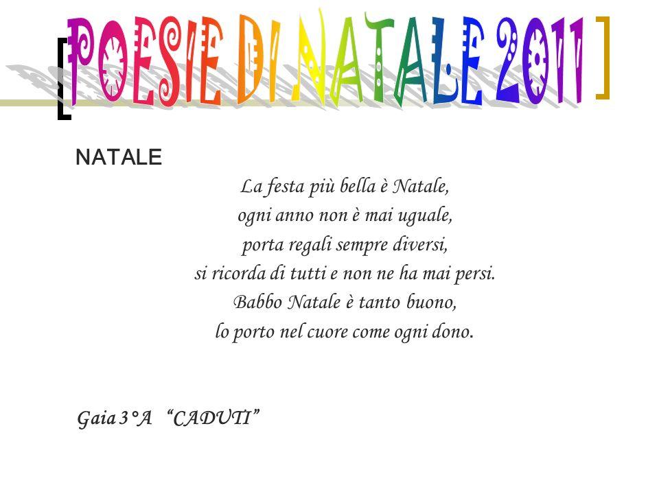 Poesie Di Natale Infanzia.Poesie Di Natale 2011 Natale La Festa Piu Bella E Natale