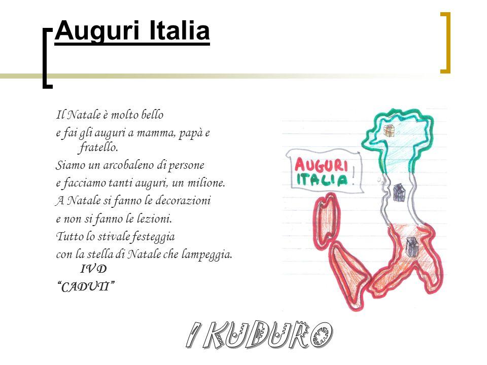 Auguri Italia I KUDURO Il Natale è molto bello