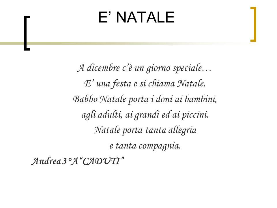 Poesie di natale 2011 natale la festa pi bella natale - Babbo natale porta i regali ai bambini ...