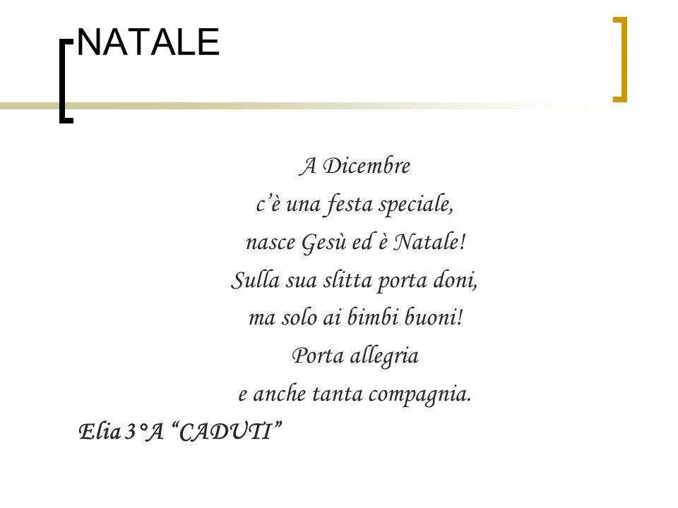 Super POESIE DI NATALE 2011 NATALE La festa più bella è Natale, - ppt  FN45