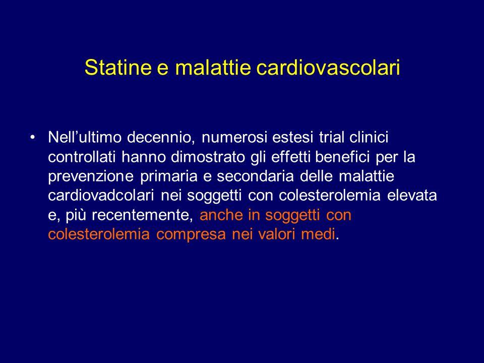 Statine e malattie cardiovascolari