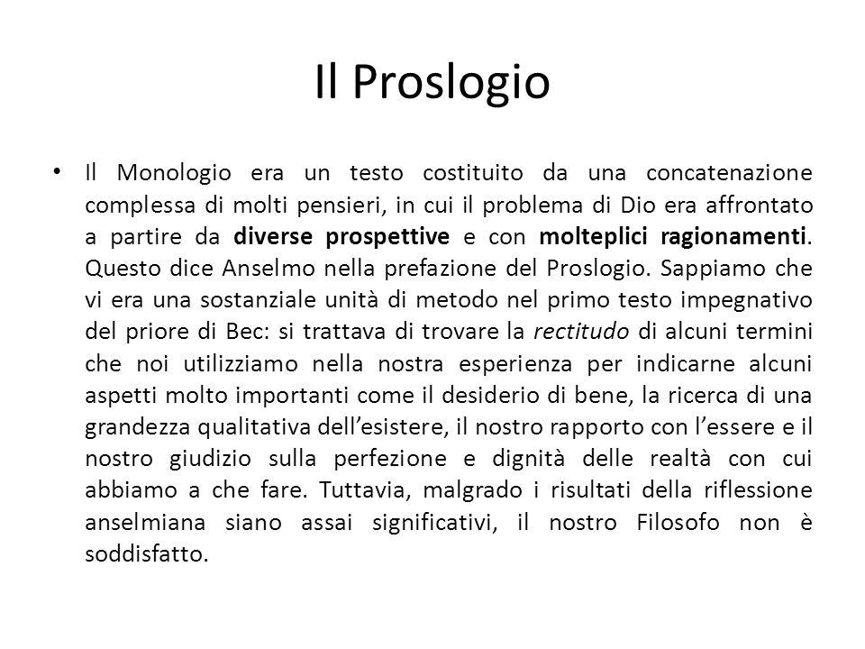 Il Proslogio