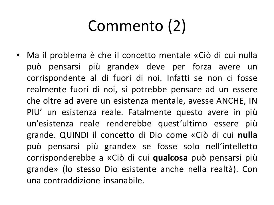 Commento (2)