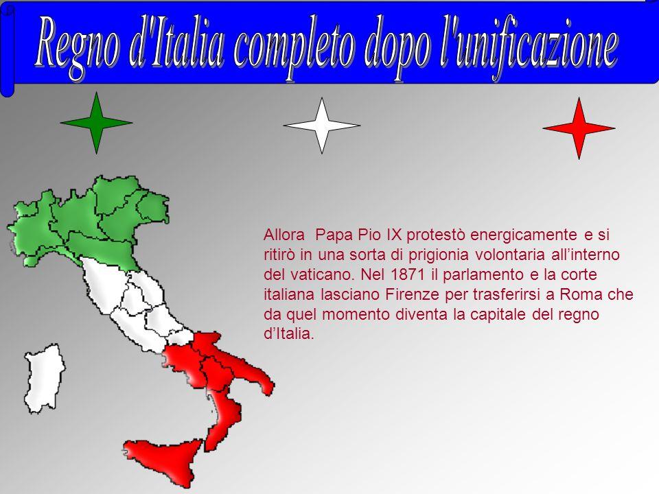 Regno d Italia completo dopo l unificazione