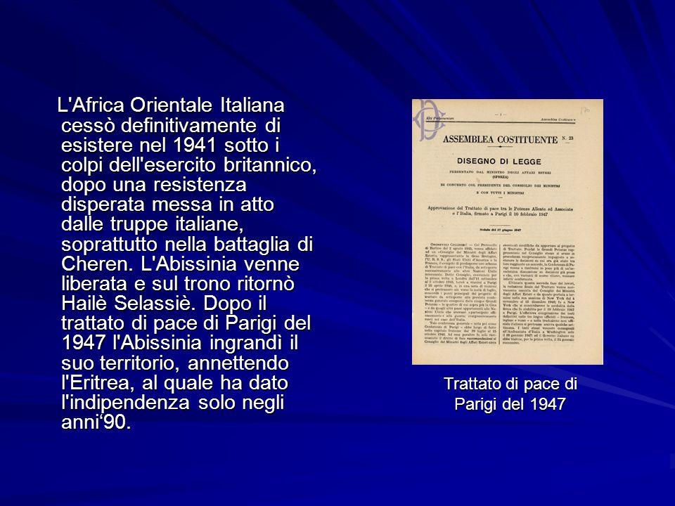 Trattato di pace di Parigi del 1947
