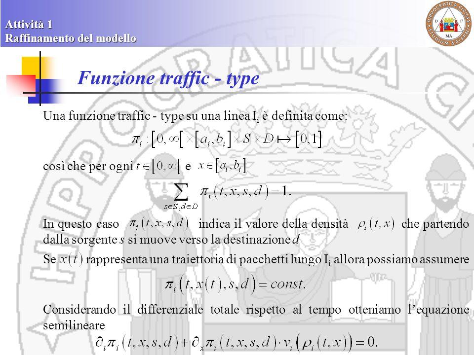 Funzione traffic - type