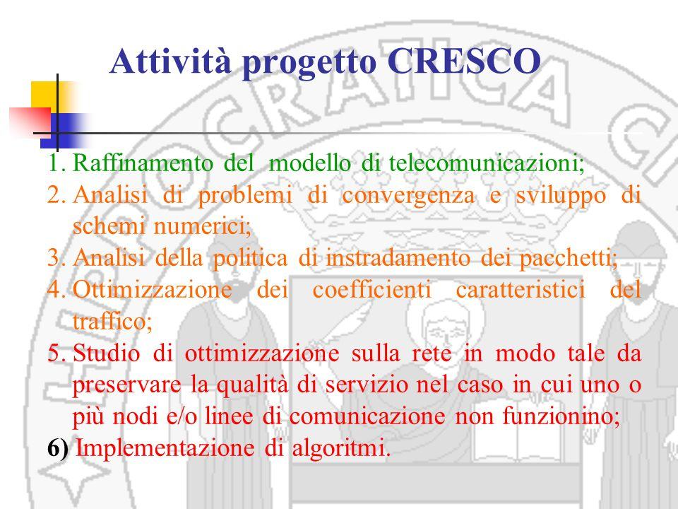 Attività progetto CRESCO