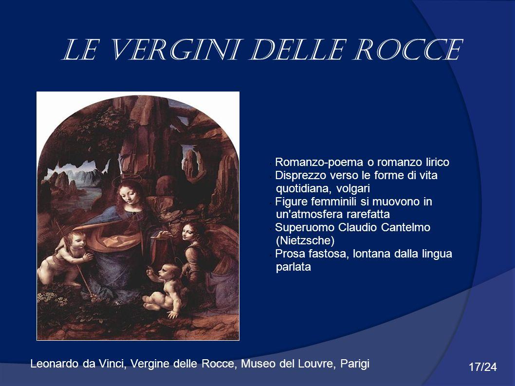 Le vergini delle rocce Romanzo-poema o romanzo lirico