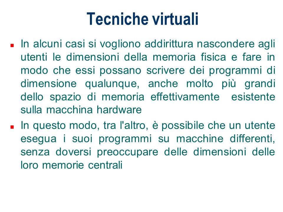 Tecniche virtuali