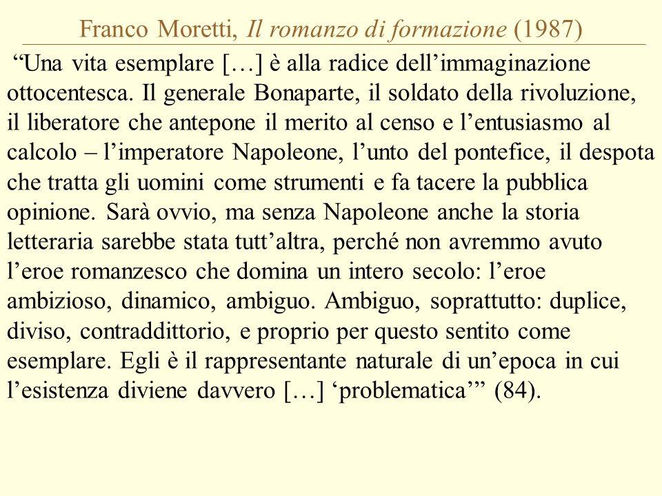 Franco Moretti, Il romanzo di formazione (1987)