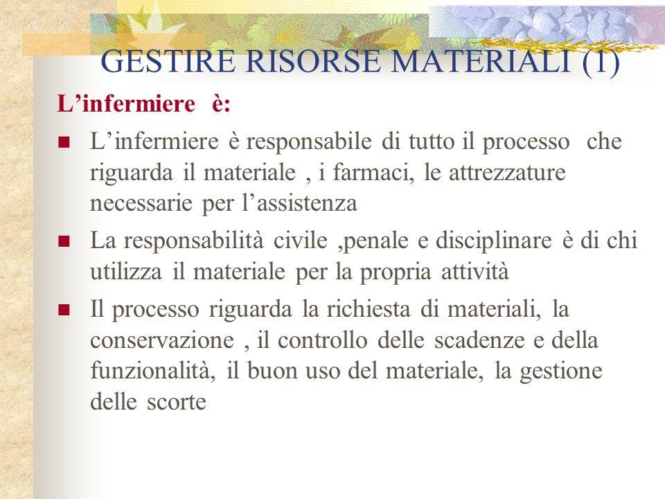 GESTIRE RISORSE MATERIALI (1)