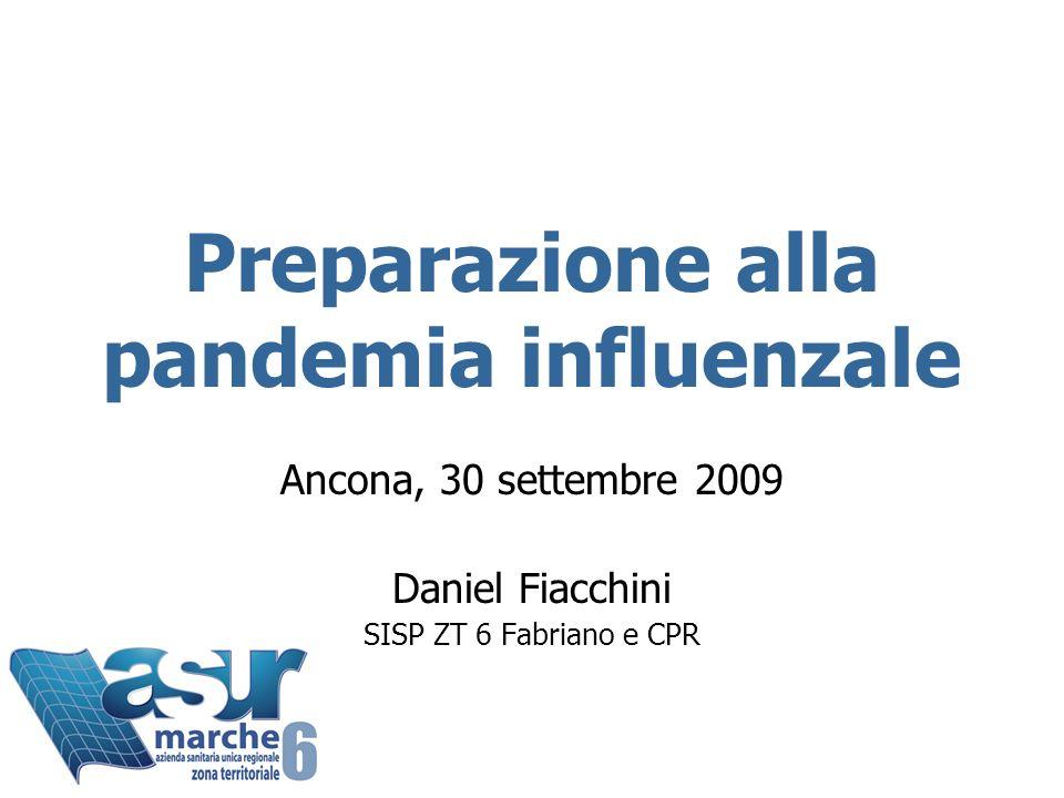 Preparazione alla pandemia influenzale