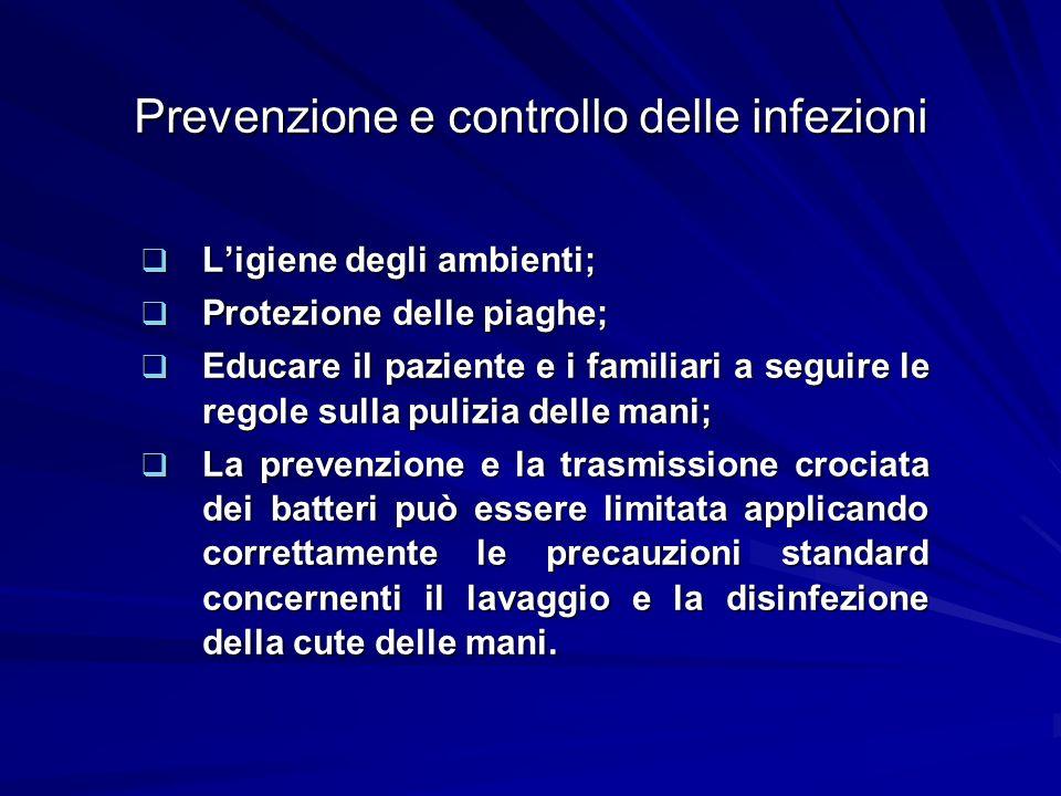Prevenzione e controllo delle infezioni