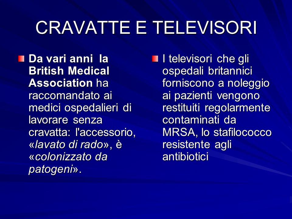 CRAVATTE E TELEVISORI