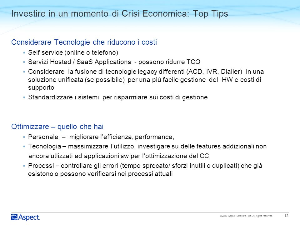Investire in un momento di Crisi Economica: Top Tips