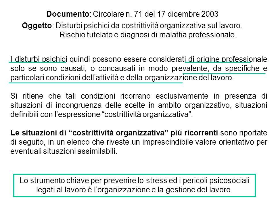 Documento: Circolare n