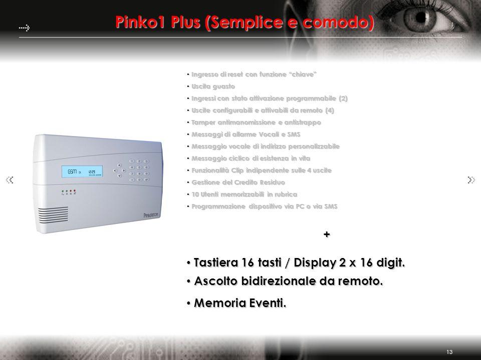 Pinko1 Plus (Semplice e comodo)