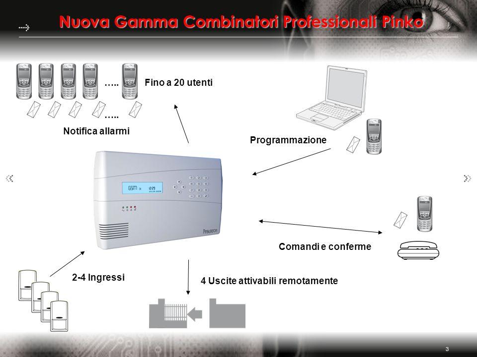 Nuova Gamma Combinatori Professionali Pinko