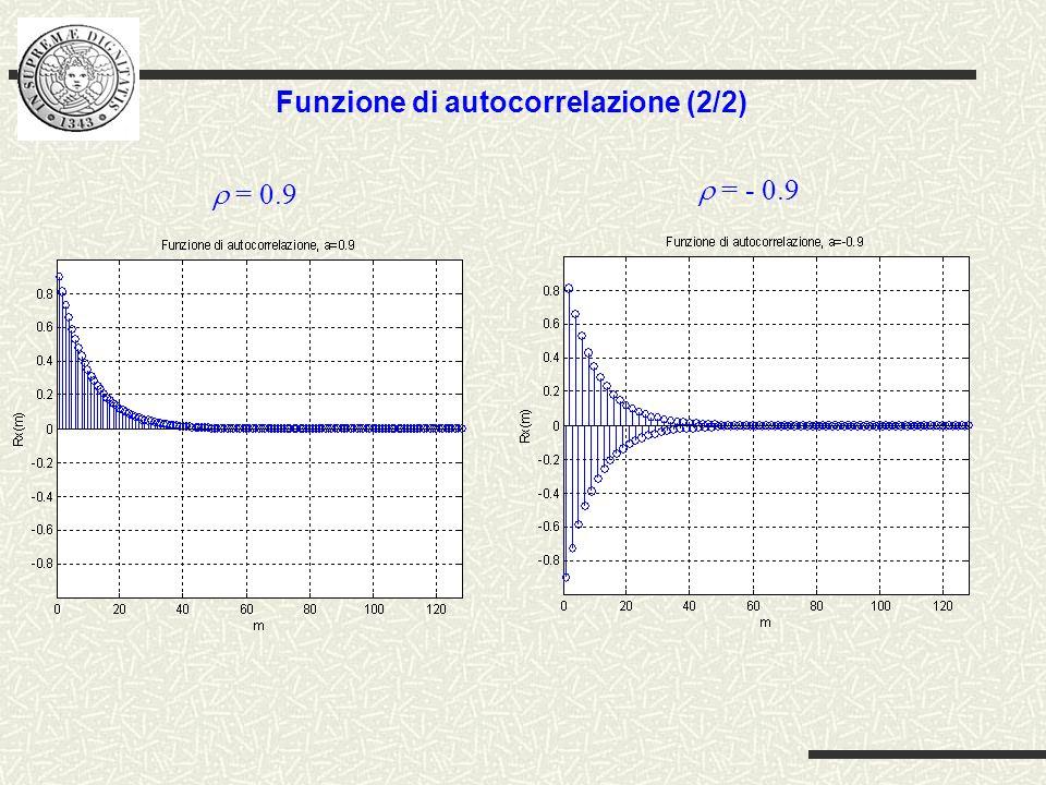 Funzione di autocorrelazione (2/2)